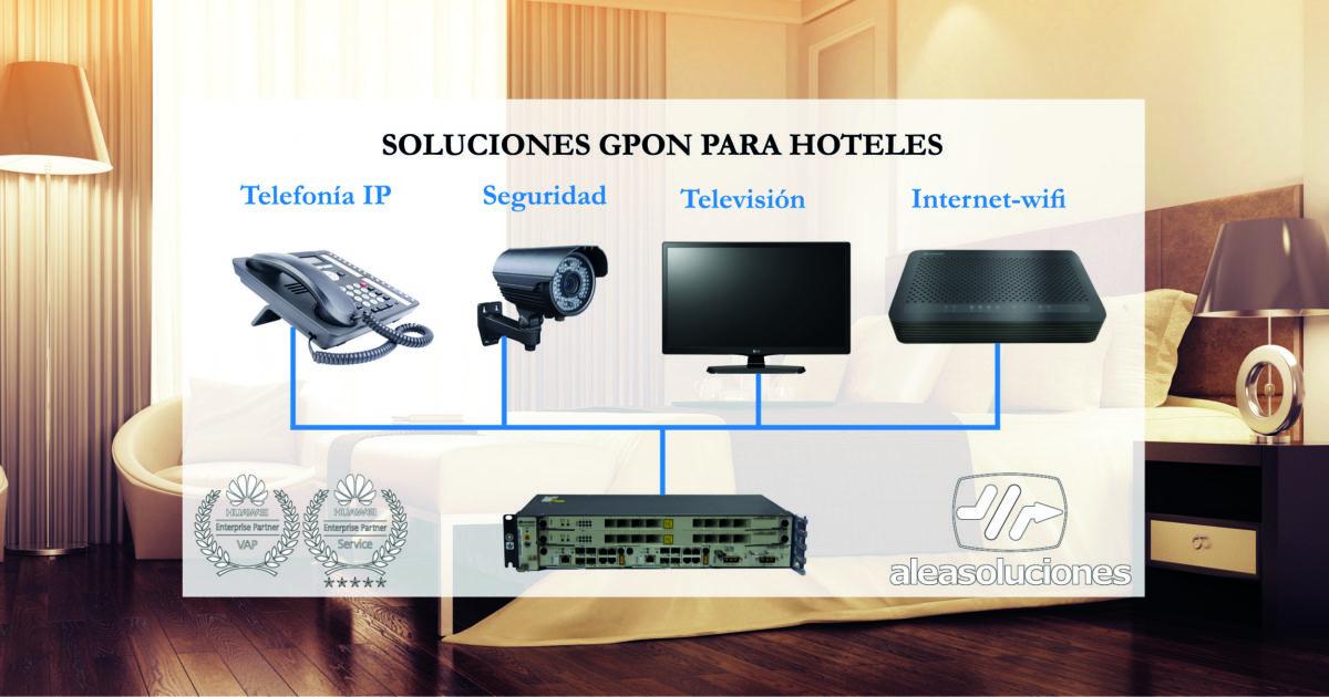Soluciones GPON para hoteles