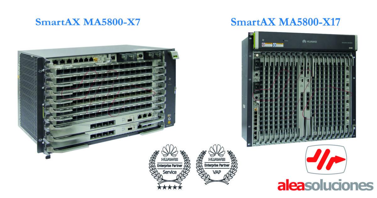 GPON Huawei y 10 GPON Chasis MA5800