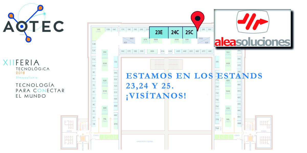Alea Soluciones en la XII Edición de la Feria Aotec