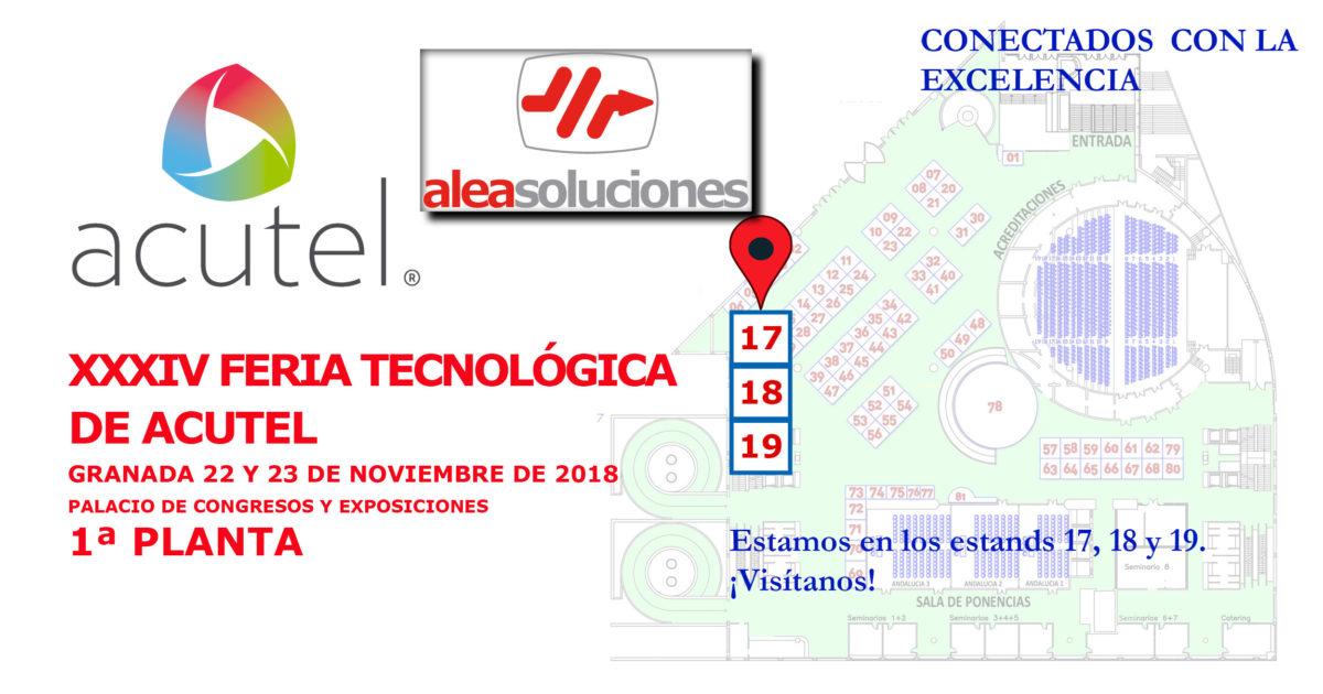 Feria Acutel 2018 edición XXXIV conectados con la excelencia