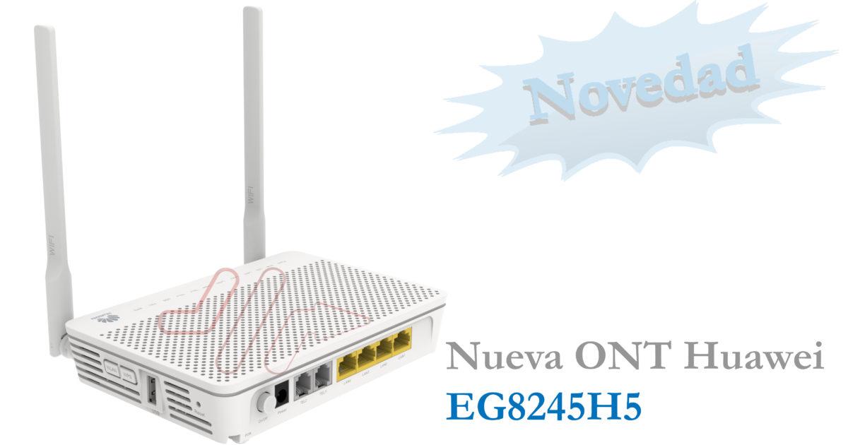 ONT GPON Huawei EG8245H5