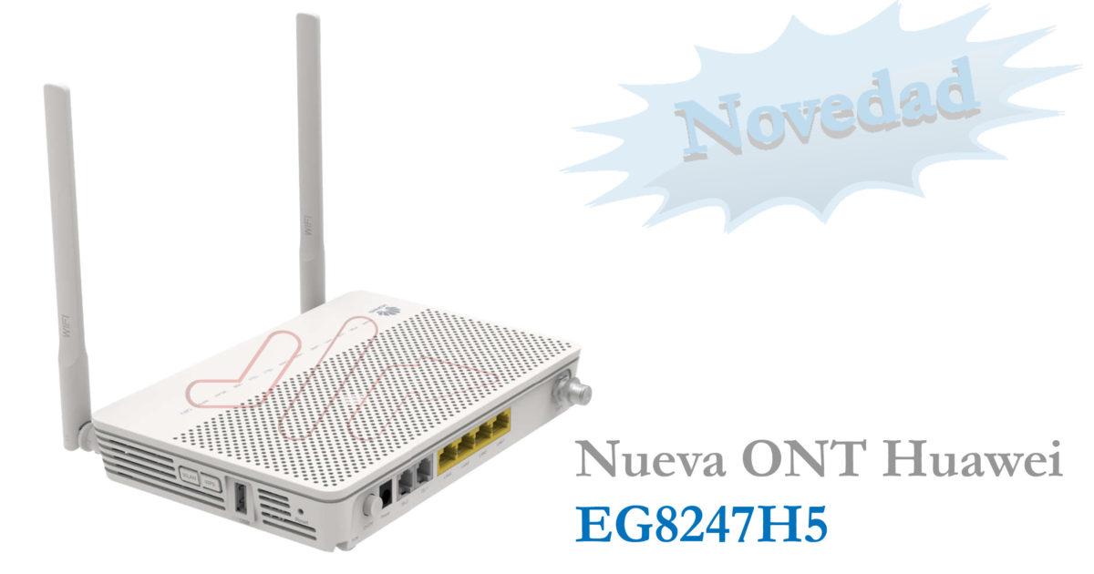 ONT GPON Huawei EG8247H5