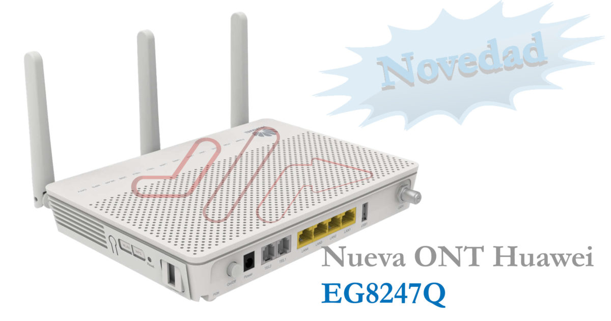 ONT wifi AC Huawei EG8247Q