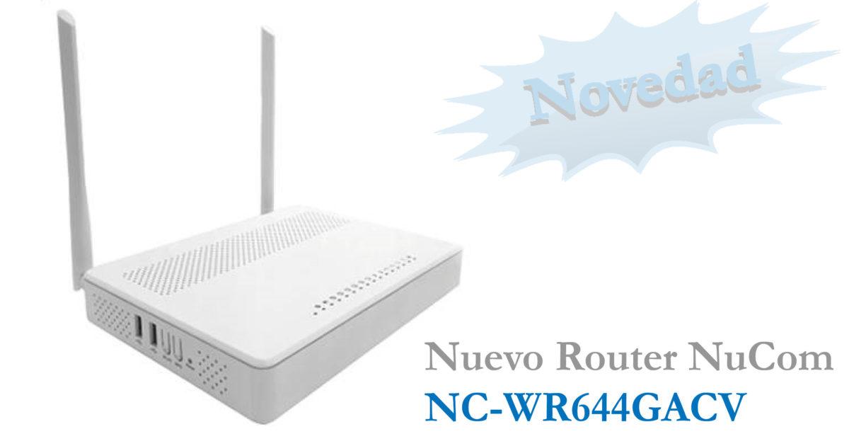 Router con wifi AC