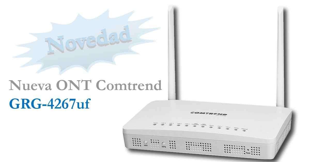 ONT wifi AC Comtrend GRG-4267uf