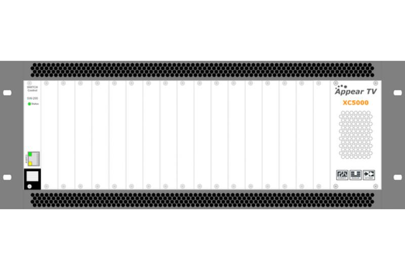 Cabecera AppearTV XC5000 4U - Vista frontal