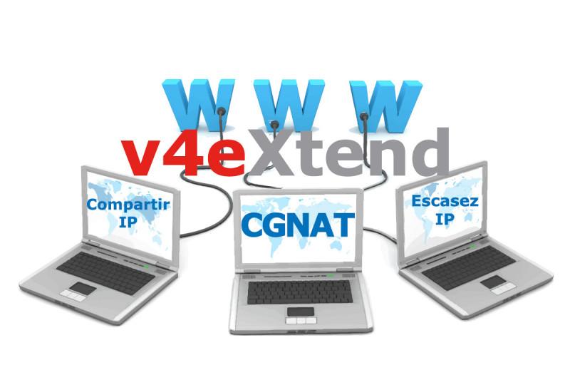 CGNAT solución v4Extend