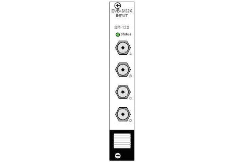 Módulo Appear TV DVB-S/S2X Input SR-120